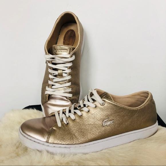 Lacoste Izod Metallic Sneakers 95